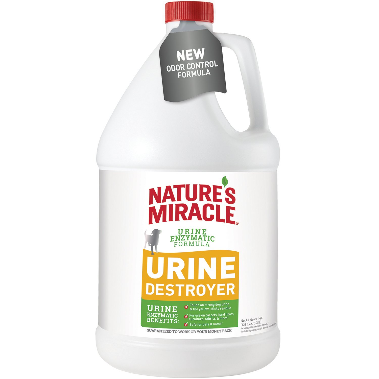Nature's Miracle Dog Urine Destroyer Pour Bottle, 128 fl. oz. by Nature's Miracle