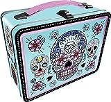 Aquarius Sugar Skulls Blue Gen 2 Tin Storage Fun Box