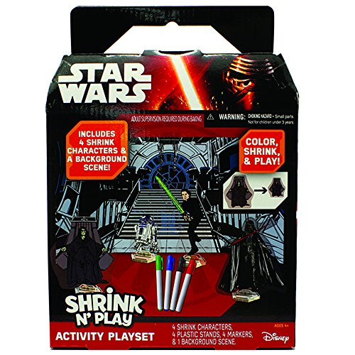 Star Wars Shrink Play Activity