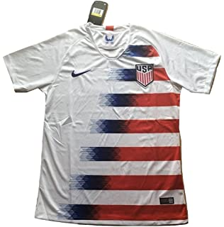 0bf4573f2a0 Simeonka-Hrisy Men s USA National Team 2018-2019 Home Soccer Jersey White