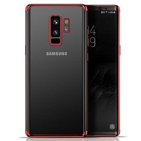 Funda Samsung Galaxy S9 Plus TPU Chapado Con Cáscara De ...