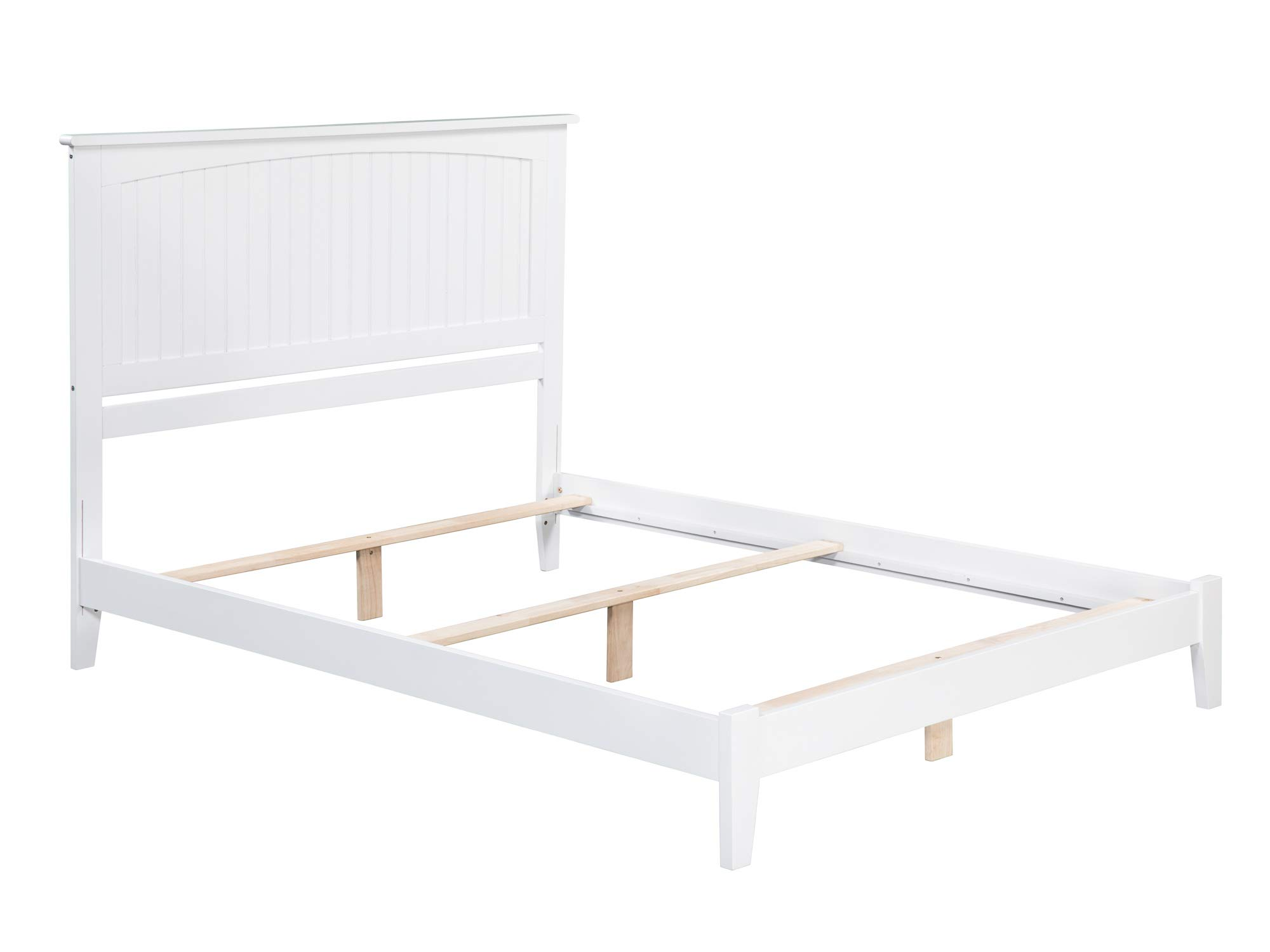 Atlantic Furniture AR8241032 Nantucket Traditional Bed, Queen, White by Atlantic Furniture