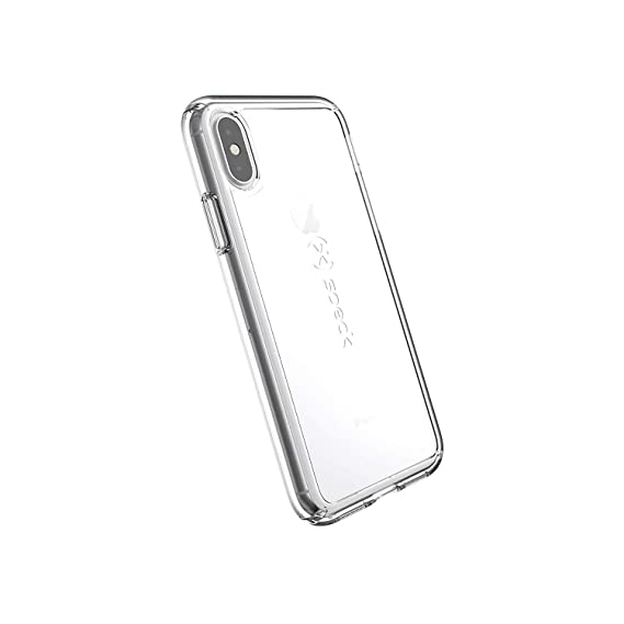 best loved 33696 bced4 Speck Products GemShell iPhone Xs/iPhone X Case, Clear/Clear