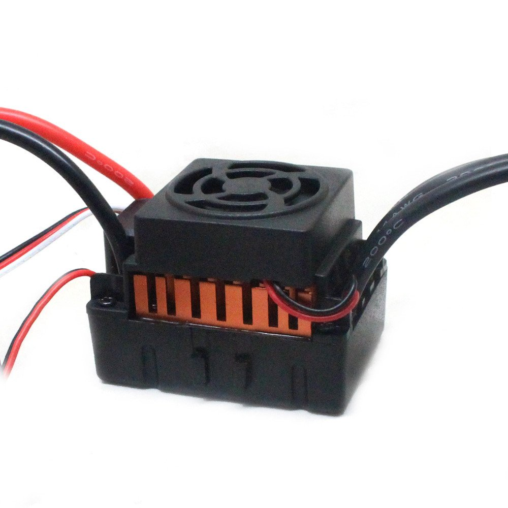 Hot  Fit 1/10 RC Car CNC Machined 4-Pole 12-Slot Hi-Torque Motor Design 10T KV3930 4 Poles Brushless Motor + Waterproof 60A Car Brushless ESC by Hisoul (Image #4)
