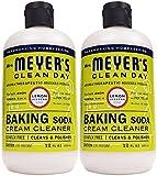 Mrs. Meyer's Clean Day Baking Soda Cream Cleaner - 12 oz - Lemon Verbena - 2 pk