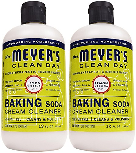 (Mrs. Meyer's Clean Day Cream Cleanser - 12 oz - Lemon Verbena - 2 pk)