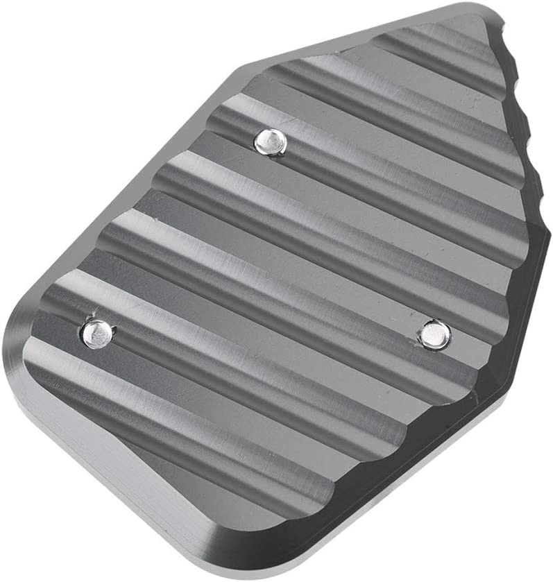 Titanium For 2008-2016 H-o-n-d-a CBR1000RR Aluminum Kickstand Foot Side Stand Enlarger Plate Extension Pad 2009 2010 2011 2012 2013 2014 2015