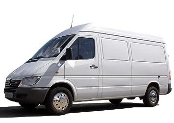 16 Pulgadas Tapacubos (4 unidades, acero inoxidable fahrzeugspezifisch para zwillingsbereifte coches o furgonetas y: Amazon.es: Coche y moto