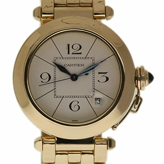 Cartier Pasha Swiss-Automatic Mens Reloj 820903 (Certificado) de Segunda Mano: Cartier: Amazon.es: Relojes