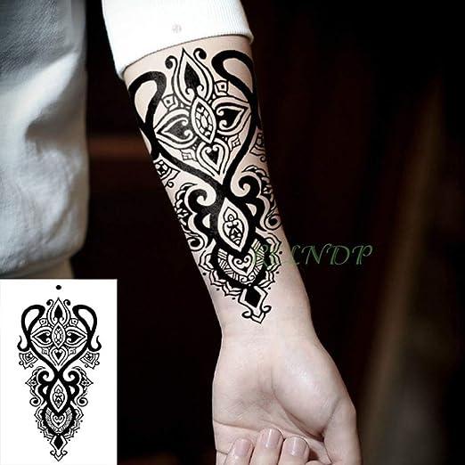 tzxdbh 5Pcs-Impermeable Etiqueta engomada del Tatuaje Tótem de ...