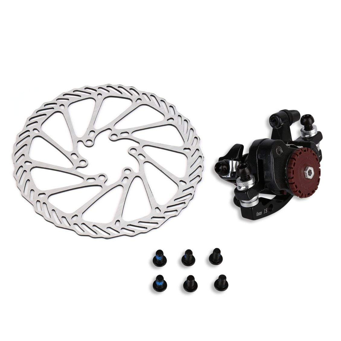 Hgih Quality BB7 MTB Bike Brakes Disc Caliper Mechanical Front Wheel 160mm Rotor Brand PGIGE