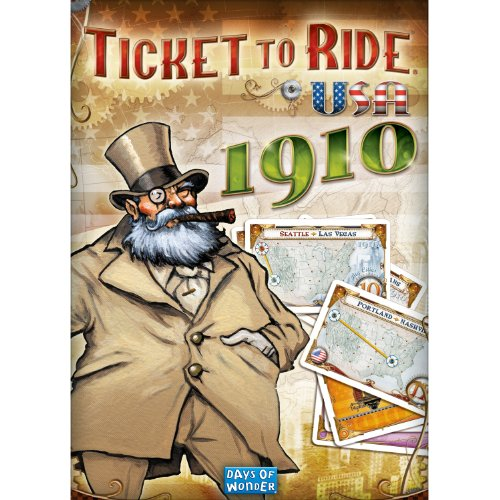 ticket to ride 1910 mega - 1