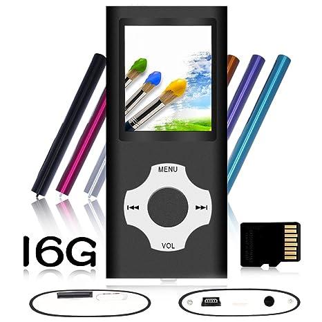 Amazon.com: Tomameri - Reproductor MP3 / MP4 portátil con ...