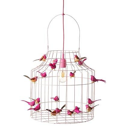 Lámpara de techo Baby habitaciones Color Rosa - rosafarbige ...