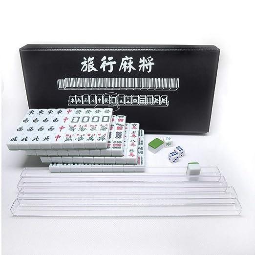 Viaje Mahjong Mini 144 Azulejo de Mahjong Juego de Mahjong Chino ...