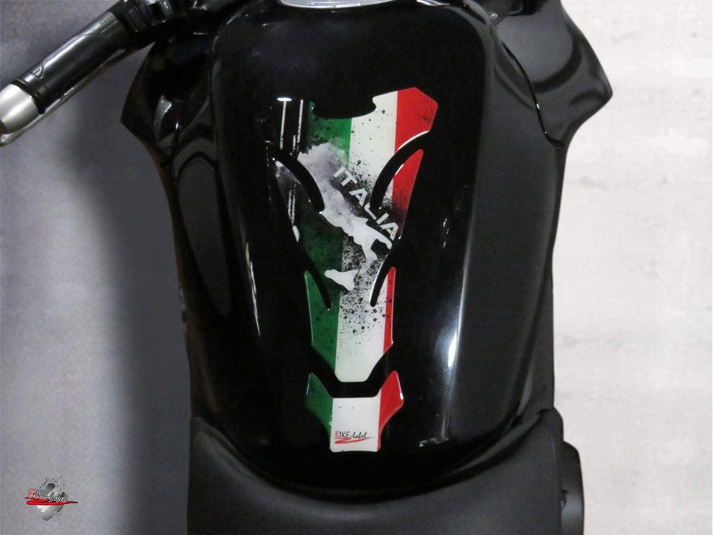Bike Label 502605va Tankpad Italien Italia Motorrad Aufkleber Tankschutz Auto