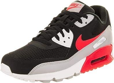 siete y media asesinato la nieve  Nike Air MAX 90 Essential, Zapatillas de Entrenamiento para Hombre,  Multicolor (Wolf Grey/Bright Crimson/Black/White 012), 44.5 EU: Amazon.es:  Zapatos y complementos