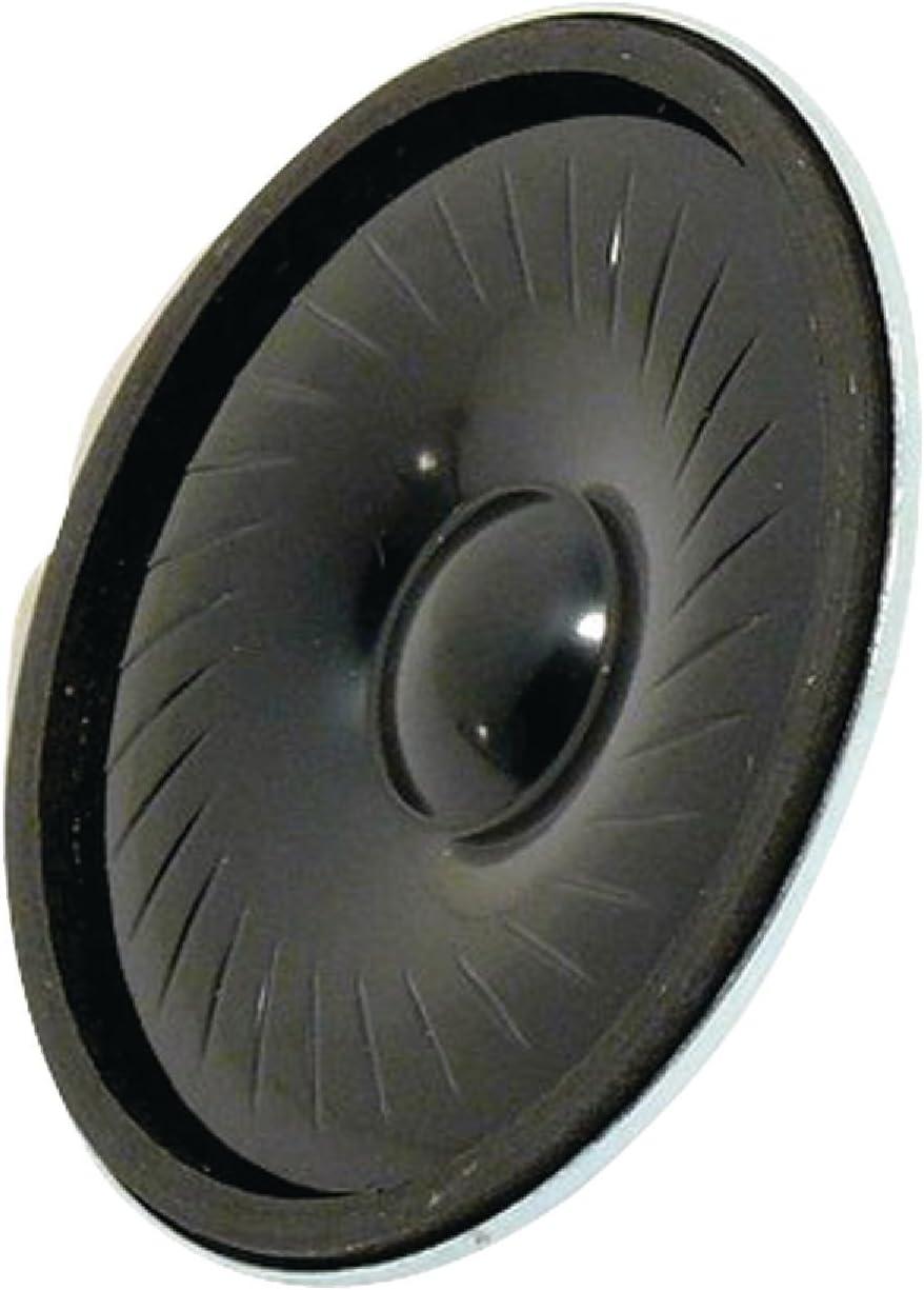 Visaton VS-K50FL-8 - Altavoces (Alámbrico, 1 W, 150-20000 Hz, 8 Ω, Negro)