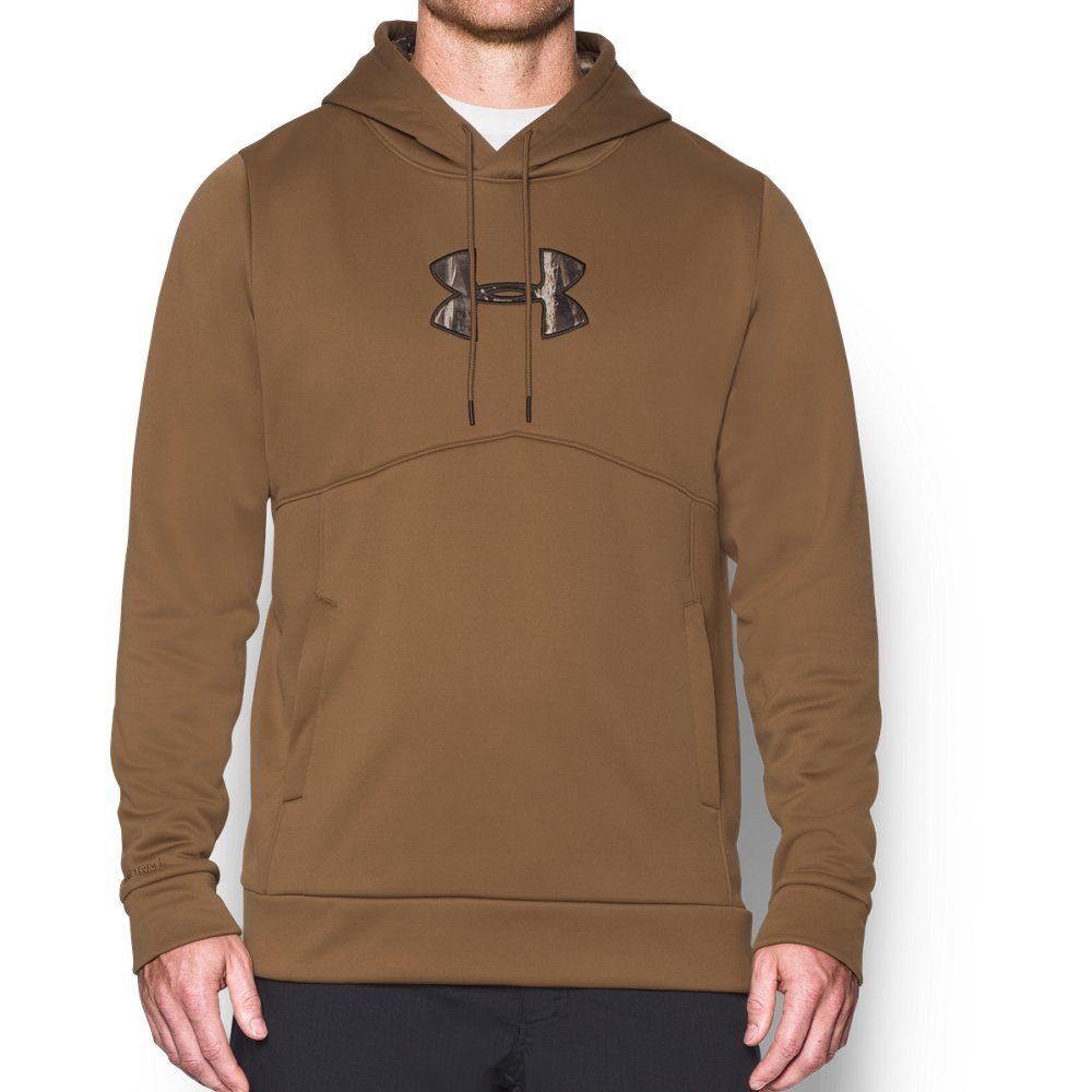 b555f74d2f9d6 Galleon - Under Armour Men's Storm Caliber Hoodie, Saddle/Realtree Max 5  XXX-Large