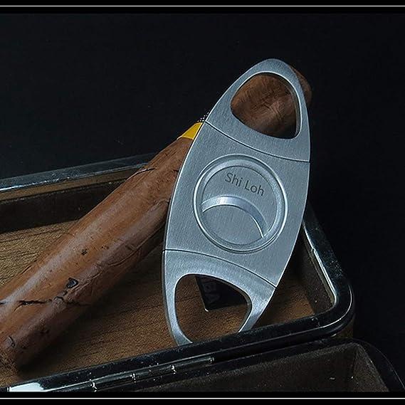 Amazon.com: TYXHZL - Tijeras de cigarrillo afiladas de doble ...