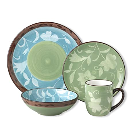 Marvelous Pfaltzgraff Patio Garden 16 Piece Dinnerware Set, Service For 4