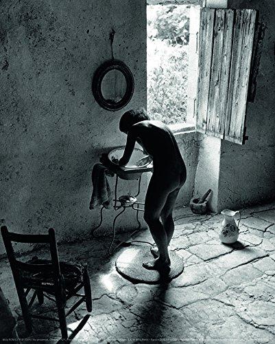 Affiche 24x30 cm Nu provençal, Gordes, 1949 / Provence Nude, Gordes, 1949 Willy RONIS (1910-2009 (Provencal Print)