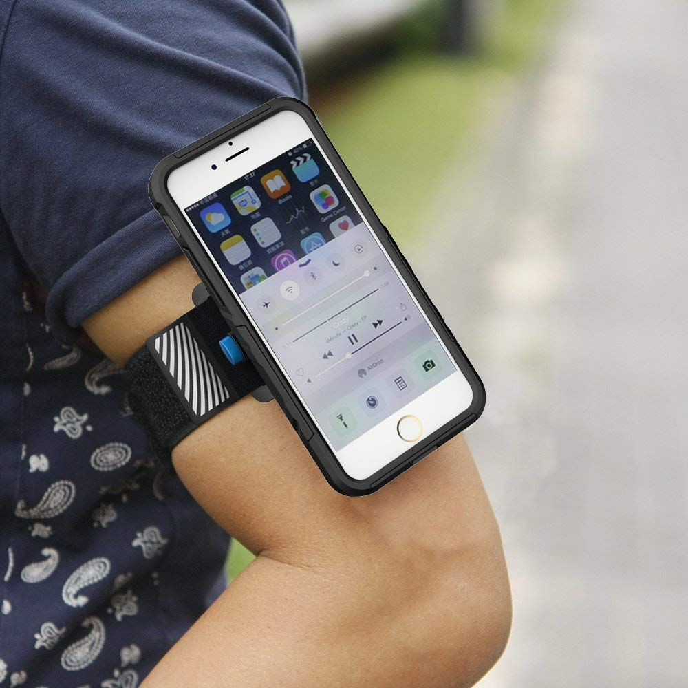 f787385c62a3 Amazon.com: Achoro Smartphone Armband for Workout, Running, Cycling,  Jogging, and Sport. Universal Premium Quality Armband, Wristband Compatible  with ...