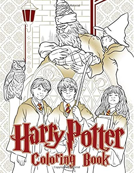 - Harry Potter Coloring Book: Hogwarts Magic School Harry Potter Coloring  Books For Adults, Kids And Teenagers Super Magical Creatures For  Relaxation: Seika, Hamada: 9798656120173: Amazon.com: Books
