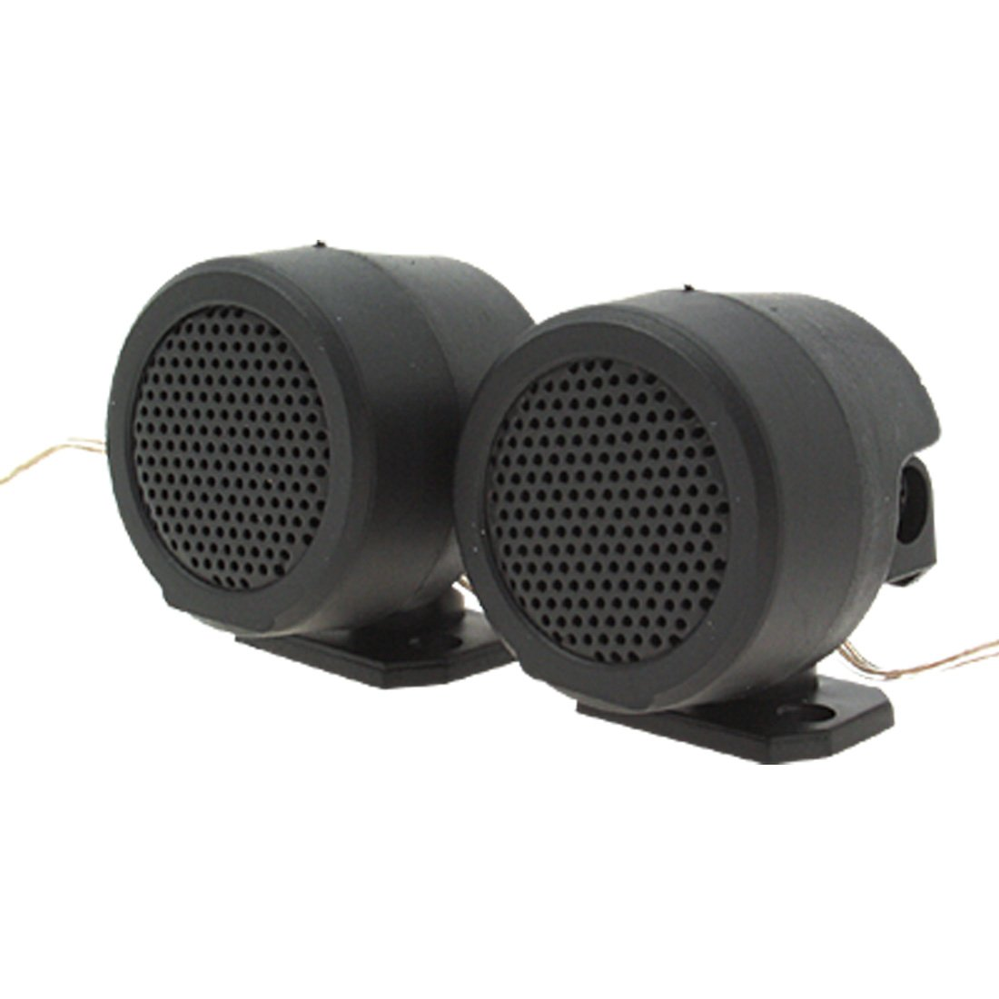 sourcingmap 97dB 15Ohm 160W 1,4 Micro Altavoz de Techo Coche Audio Negro 3,6cm