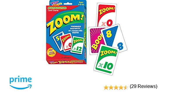Amazon.com : Trend Enterprises Zoom! Learning Game (100 Piece ...