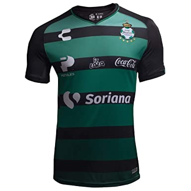2e648dc98 Amazon.com  charly Men s Santos Laguna Away Jersey 18-19 (M) Green ...