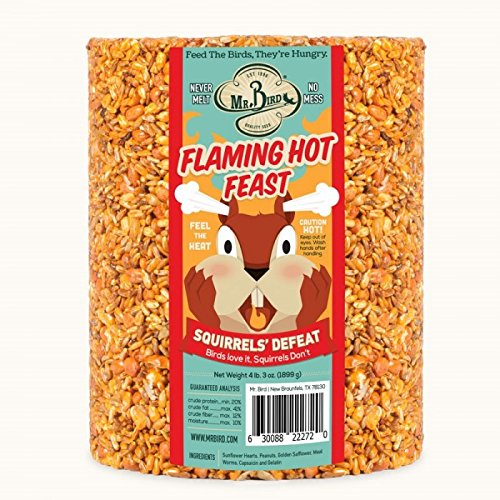 (Mr. Bird Flaming Hot Feast Large Seed Cylinder 4 lb. 3 oz.)