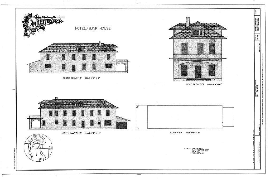 diagram of bunkhouse amazon com historic pictoric blueprint diagram hotel bunk house  amazon com historic pictoric blueprint