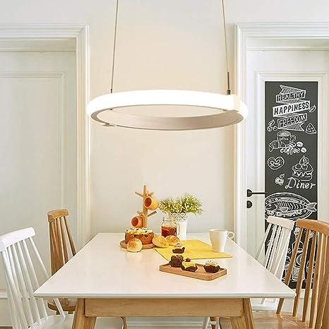 Lámpara de techo redonda para sala de estar con luz redonda ...