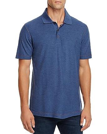 083ccf7e3d5c Amazon.com  Robert Graham Stellar Classic Fit Polo Shirt (Blue