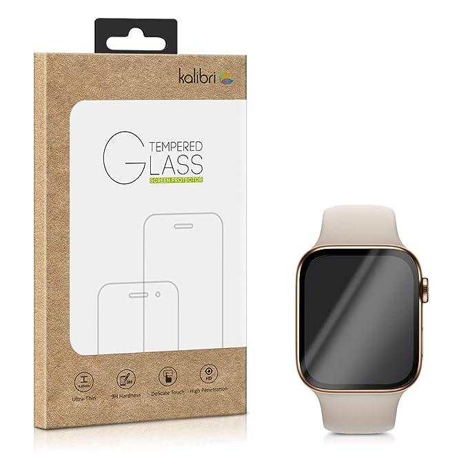 8 opinioni per kalibri Apple Watch 44mm (Series 4/5) Pellicola vetro- protezione 3D Full Screen