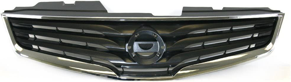 Grilles Perfit Liner New Front Chrome Black Grille Grill ...