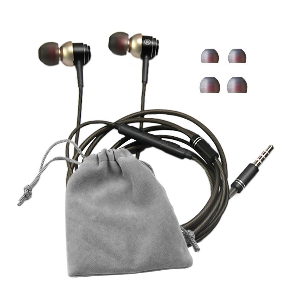 SUPNEW Earphones in Ear Headphones Earbuds with Microphone and Volume Control for iPhone Android Smartphone Tablet Laptop, 3.5mm Audio Plug Devices by SUPNEW (Image #7)
