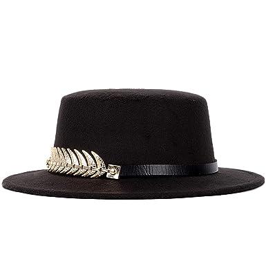Hot Fashion Bowler Fedoras Women Autumn Spring Summer Wool Women s Top Felt Hat  Wide Brimmed Fedora 82a11a4881b1