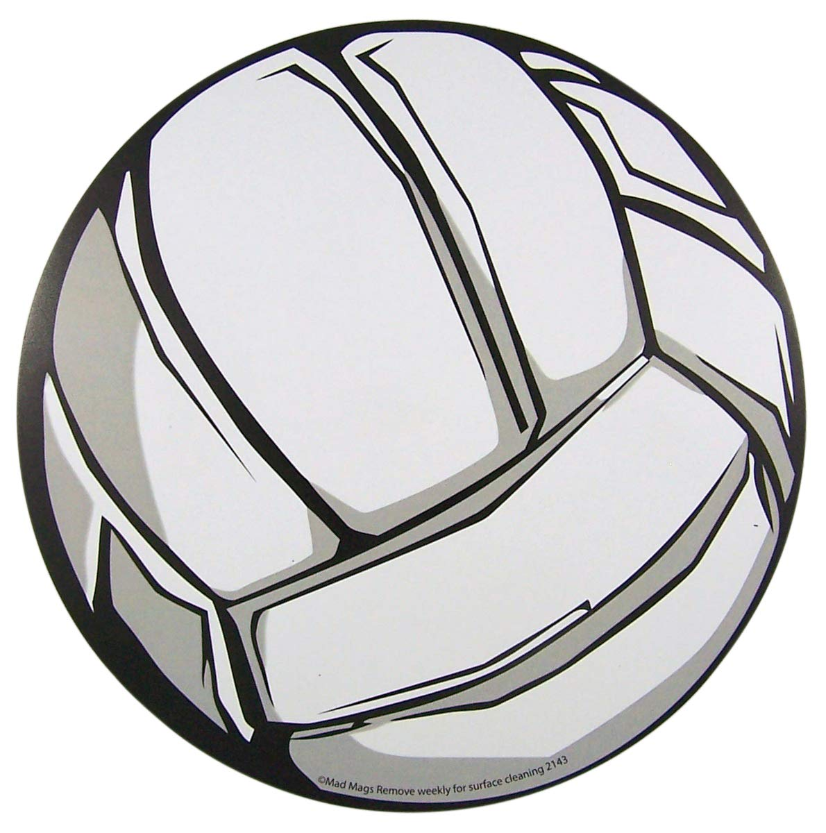 Sports Athlete Volleyball Magnet for School Lockers, Cars, or Refrigerators, 5 3/4 Inch