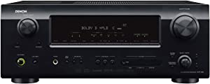 Denon AVR-589 375-Watt 5.1 Channel Home Theater Receiver (Discontinued by Manufacturer)