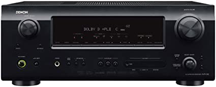 amazon com denon avr 589 375 watt 5 1 channel home theater receiver rh amazon com Owner's Manual denon avr 589 service manual