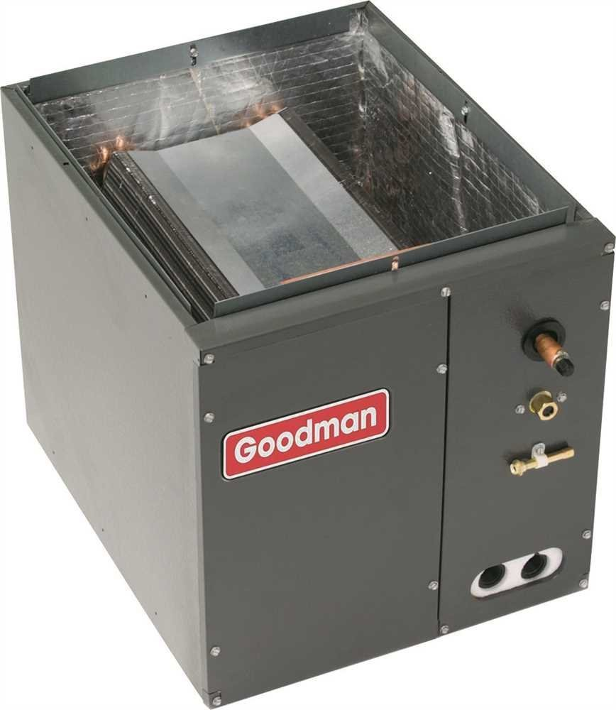 Goodman CAPF3636B6 Goodman Evaporator Coil Full-Cased 3 Ton Upflow Or Downflow