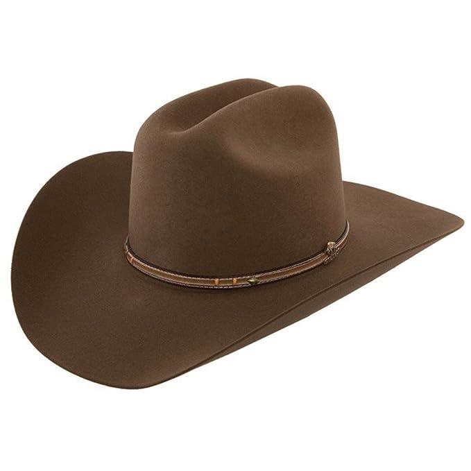 72d5fc07 Stetson Men's Powder River 4X Buffalo Felt Cowboy Hat at Amazon Men's  Clothing store: Stetson Hat For Men Buffalo