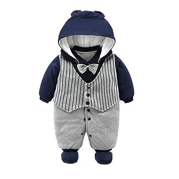 3b5fde607b2fd 人気 深青+灰色 紳士の熊 かわいい ベビー服 女の子 赤ちゃん服 幼児 子供服 男の子