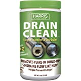 Harris Natural Enzyme Drain Cleaner and Clog Remover, 40 Treatments