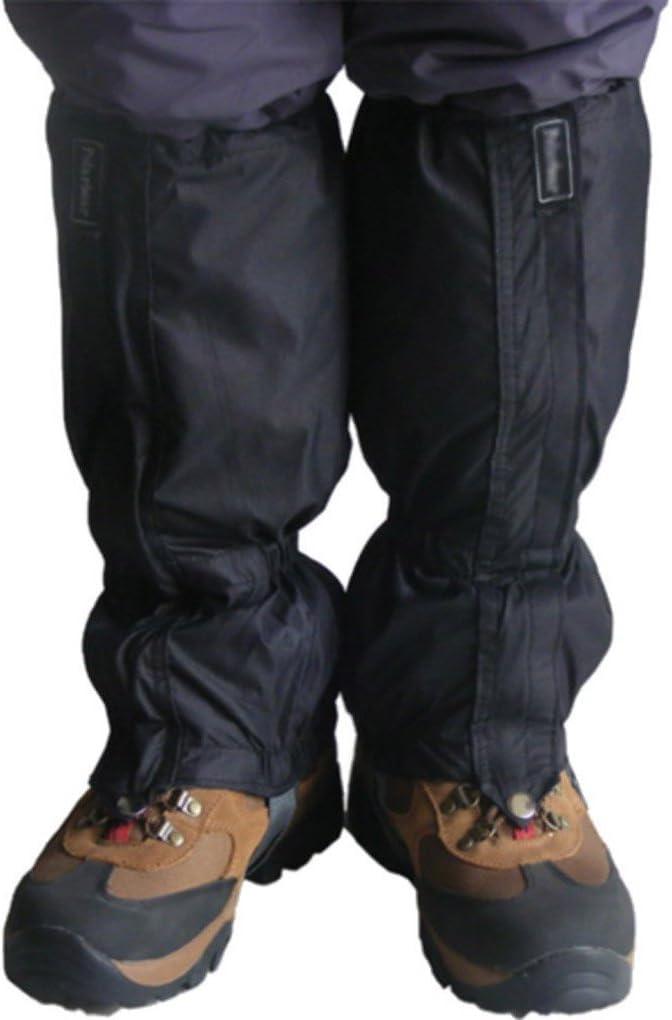 PRENKIN 1 Pair Waterproof Outdoor Hiking Walking Climbing Snow Trouser Cover Gaiters Snow Legging