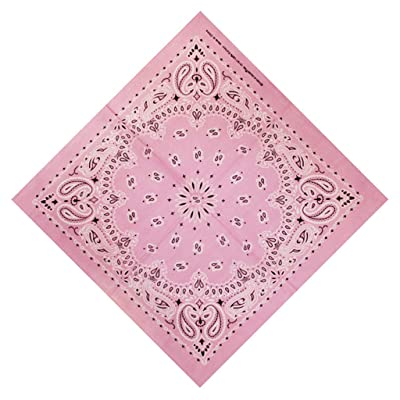 Moilant Double Sided Paisley Bandanas Multi-Purpose Bandana Gift Soft Cotton Head Wrap Scarf 2020 New Cute Print Bandanas: Clothing