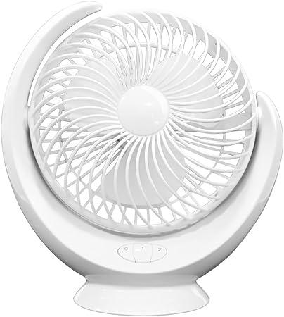 DNXL Ventilador Recargable Mini de la batería de Litio de la Luna ...