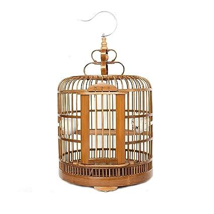 Amazon com: Xinxinchaoshi Bamboo Bird Cage Canary Bird Cage